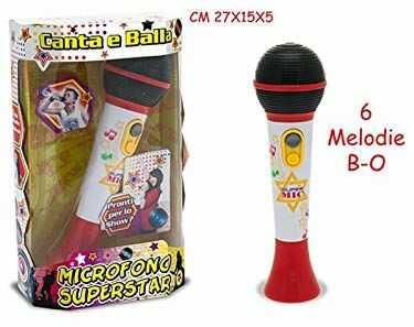 Zestaw 64409  mikrofon Superstar A