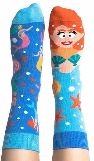 Skarpetki kolorowe dla dzieci Nanushki - Fishtail Abigail Kids