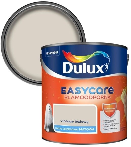 Farba Dulux EasyCare vintage beżowy 2,5 l