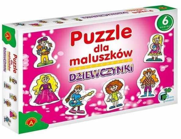 Puzzle dla maluszków - dziewczynki ALEX - Alexander