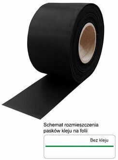 Folia zewnętrzna EPDM 0,75x500 mm