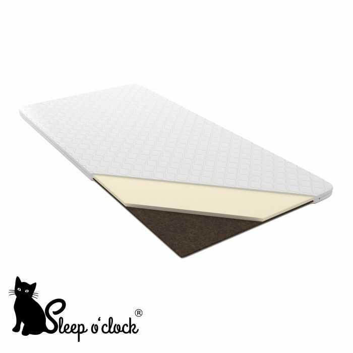 materac nawierzchniowy SLIM sleep o''clock 90x200 H2 + RATY