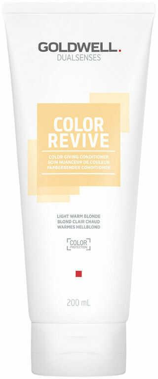 Goldwell Dualsenses Color Revive odżywka tonizująca Light Warm Blonde 200 ml