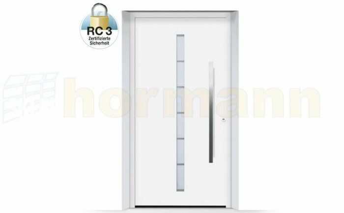 ThermoSafe aluminiowe drzwi zewnętrzne, przeciwwłamaniowe RC 3 - 189, kolory do wyboru