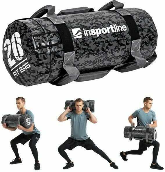 Sandbag do ćwiczeń worek Fitbag Camu 20 kg Insportline