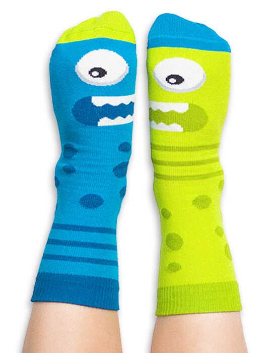 Skarpety kolorowe dla dzieci - Little Monster