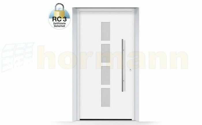 ThermoSafe aluminiowe drzwi zewnętrzne, przeciwwłamaniowe RC 3 - 501, kolory do wyboru