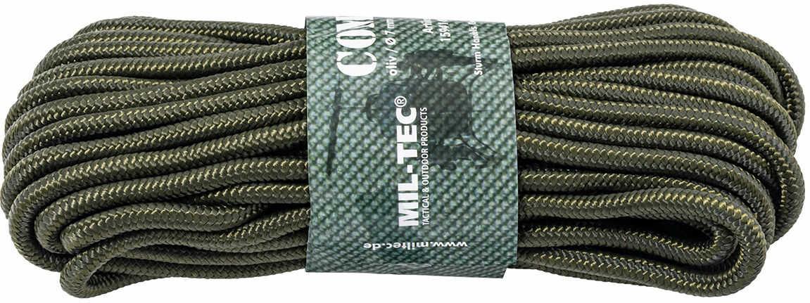 Linka Mil-Tec 7 mm x 15 m - 420 kg - zielony (15941001-007)
