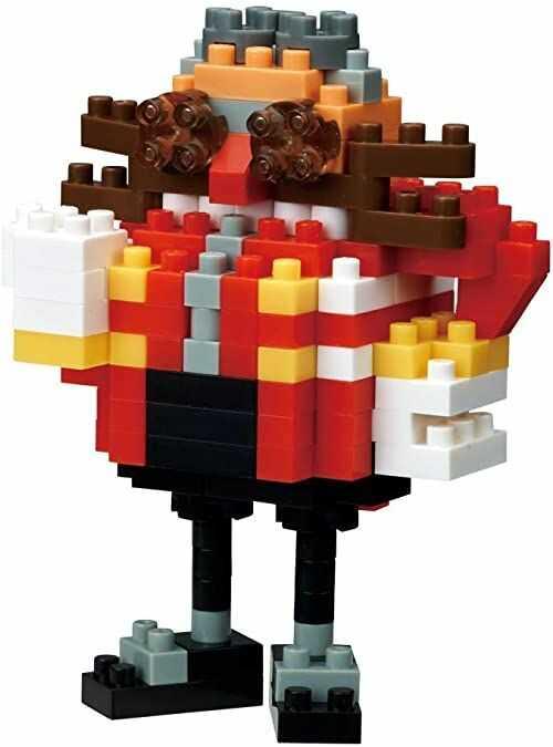 Nanoblock Sonic the Hedgehog - Dr. Eggman, Nanoblock CharacterCollection Series (Box of 3)