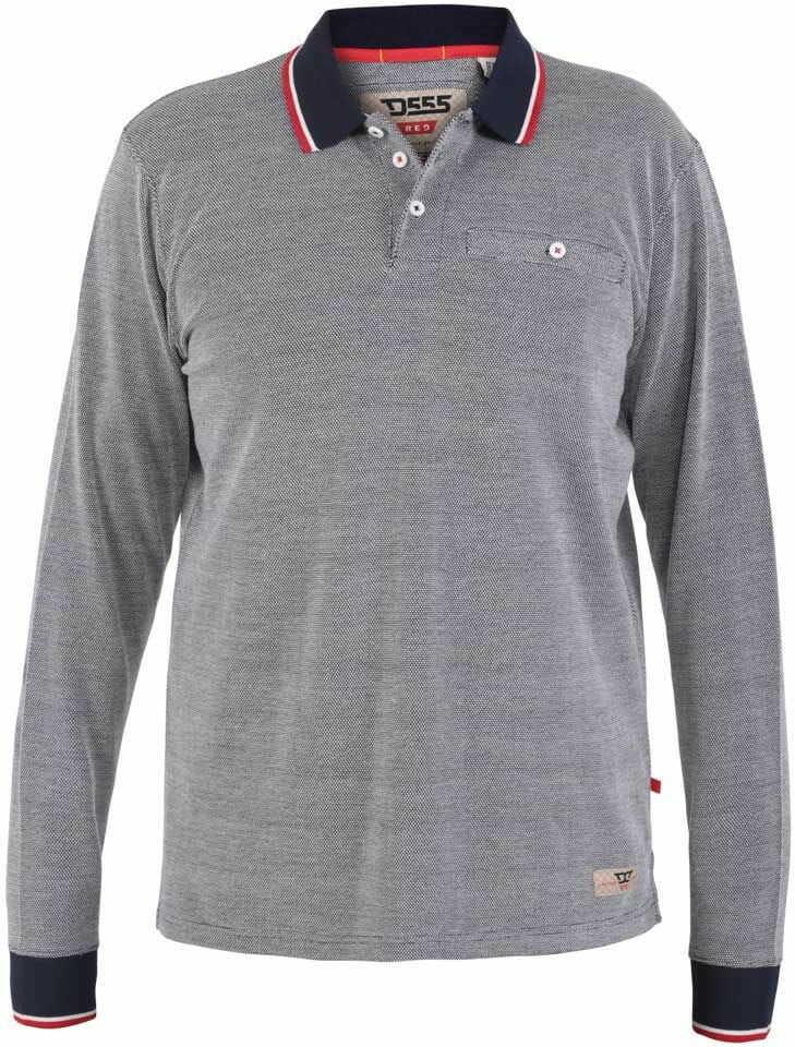 HAWSTEAD-D555 Koszulka Polo Szara