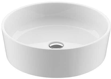 Ravak umywalka Moon 1 biała bez przelewu 40 cm XJN01300000