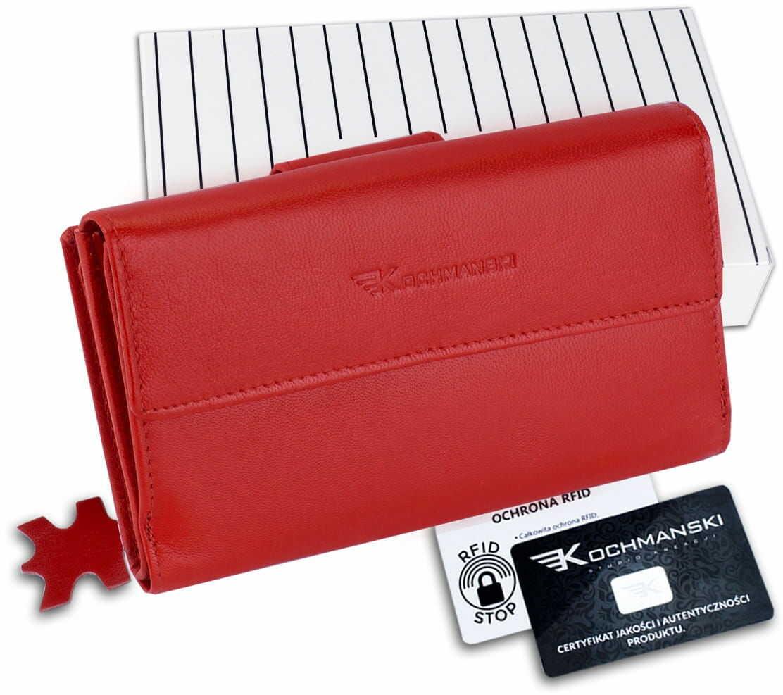 KOCHMANSKI portfel damski skórzany XXL 4303