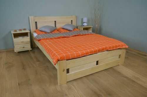 Łóżko do sypialni sosnowe Nela 180x200