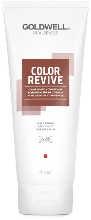 Goldwell Dualsenses Color Revive odżywka tonizująca Warm Brown 200 ml
