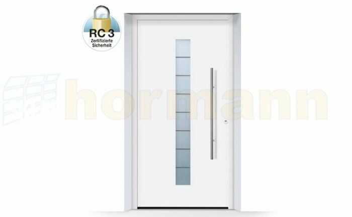 ThermoSafe aluminiowe drzwi zewnętrzne, przeciwwłamaniowe RC 3 - 503, kolory do wyboru