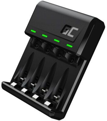 Ładowarka GREEN CELL VitalCharger do akumulatorów AA R6 oraz AAA R03 Ni-MH