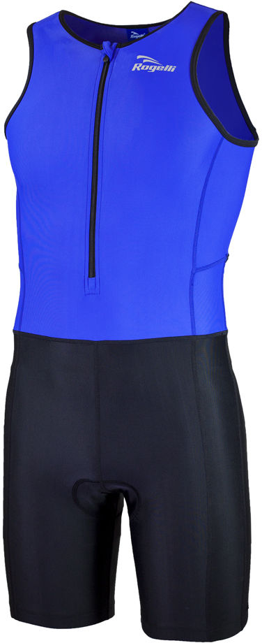 ROGELLI TRI FLORIDA 030.001 męski strój triathlonowy, niebiesko-czarny Rozmiar: L,ROGELLI TRI FLORIDA 030.002-black-blue