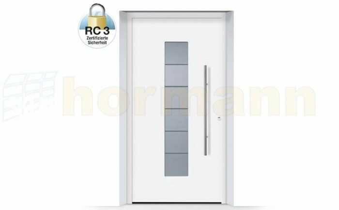 ThermoSafe aluminiowe drzwi zewnętrzne, przeciwwłamaniowe RC 3 - 504, kolory do wyboru