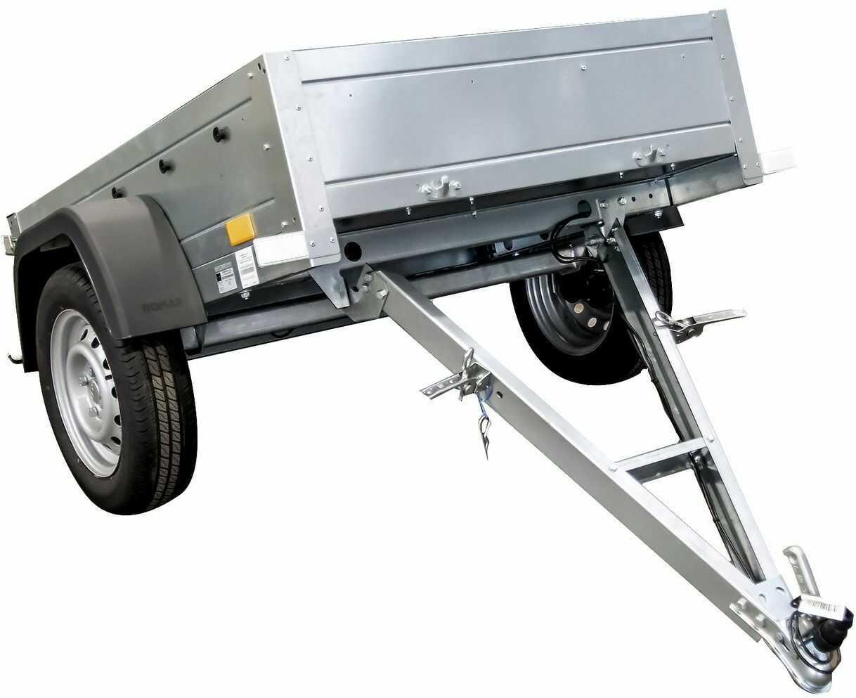 Przyczepka jednoosiowa 750 KG DMC 150 X 106 GARDEN TRAILER 150 KIPP