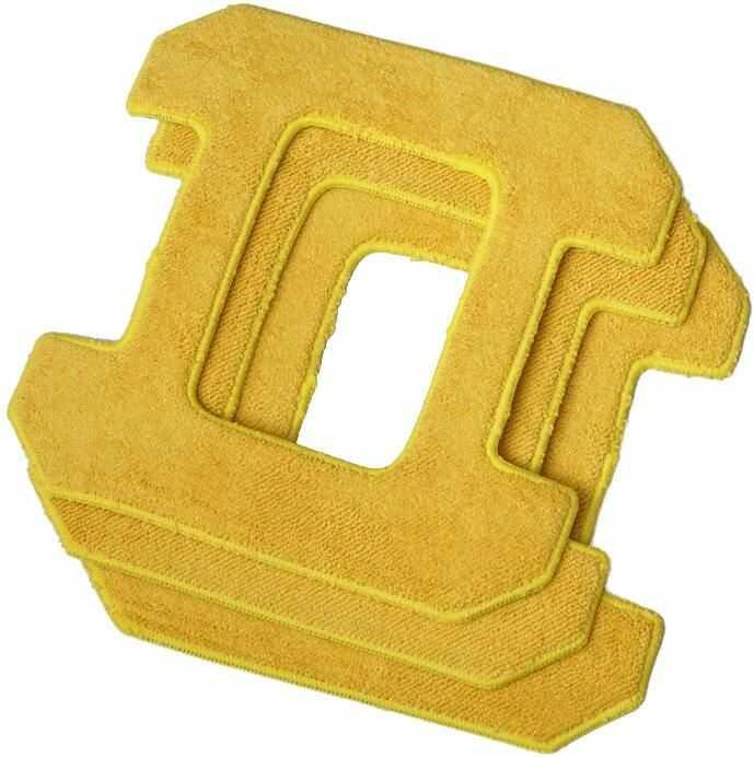 Zestaw ściereczek do Hobot 268/288/298 - żółte