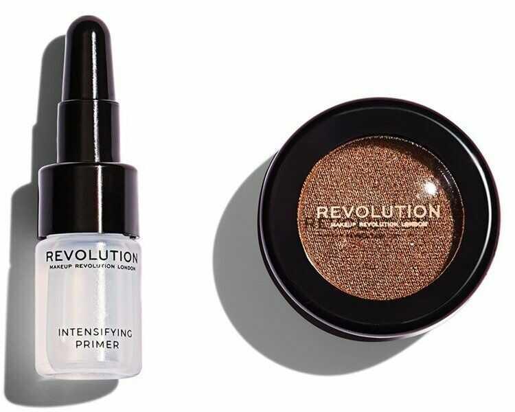 Makeup Revolution Flawless Foils Cień foliowy do powiek Conflict