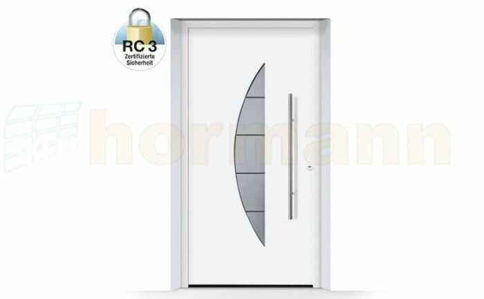 ThermoSafe aluminiowe drzwi zewnętrzne, przeciwwłamaniowe RC 3 - 505, wybór kolorów