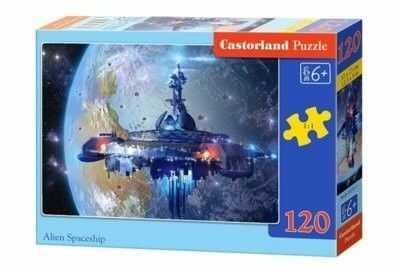 Puzzle Castor 120 - Statek kosmiczny, Alien Spaceship