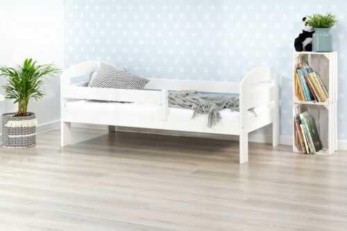 Łóżko 180x90cm BumbleBee pojedyncze kolor biały