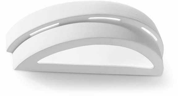 Kinkiet Ceramiczny HELIOS SL.0002 biały 1xE27