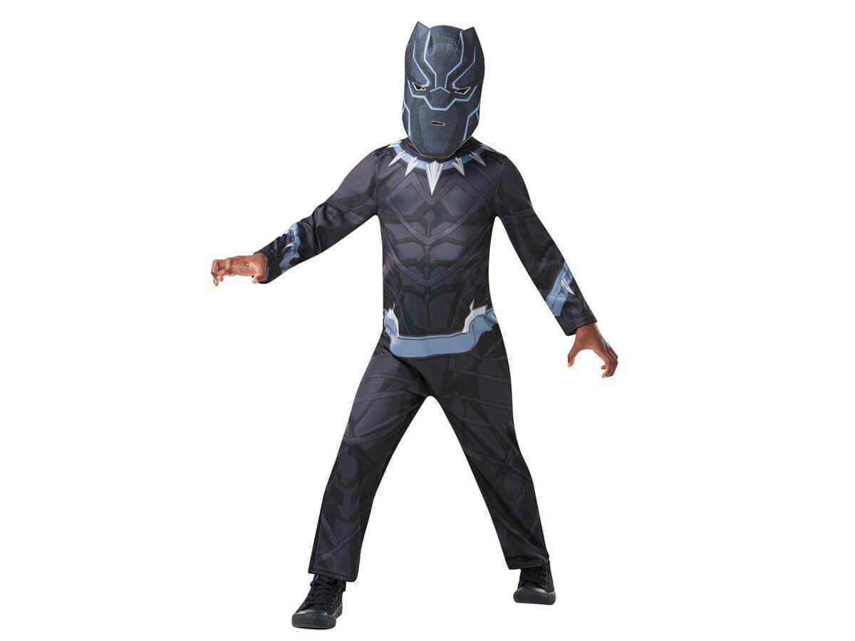 Kostium Czarna Pantera dla chłopca - S