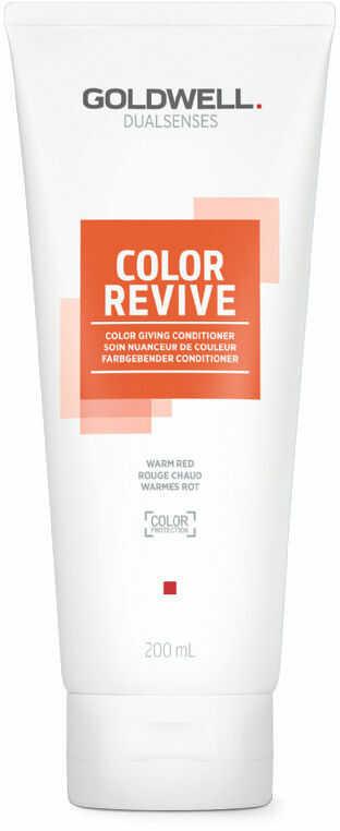 Goldwell Dualsenses Color Revive odżywka tonizująca Warm Red 200 ml