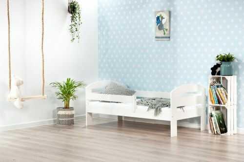 Łóżko 190x80cm BumbleBee pojedyncze kolor biały