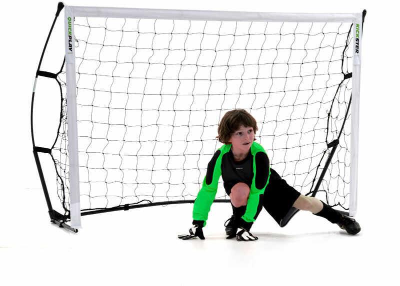 Przenośna bramka piłkarska Quickplay Kickster 182x121