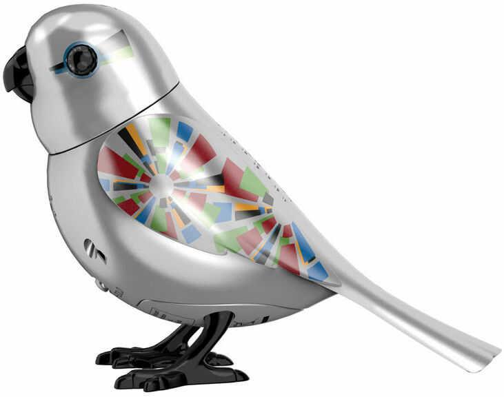 Silverlit DigiBirds - Śpiewający ptaszek Sylvain edycja limitowana 88408