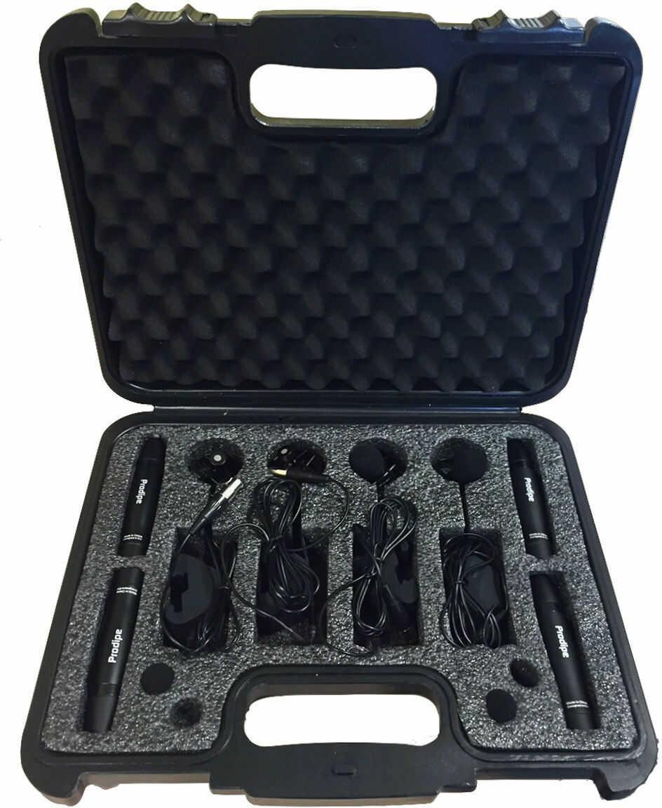Prodipe DL21 - zestaw czterech mikrofonów instrumentalnych