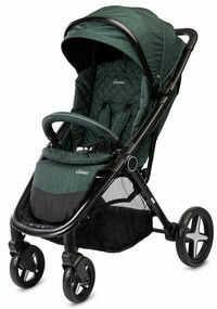 Caretero wózek spacerowy colosus dark green