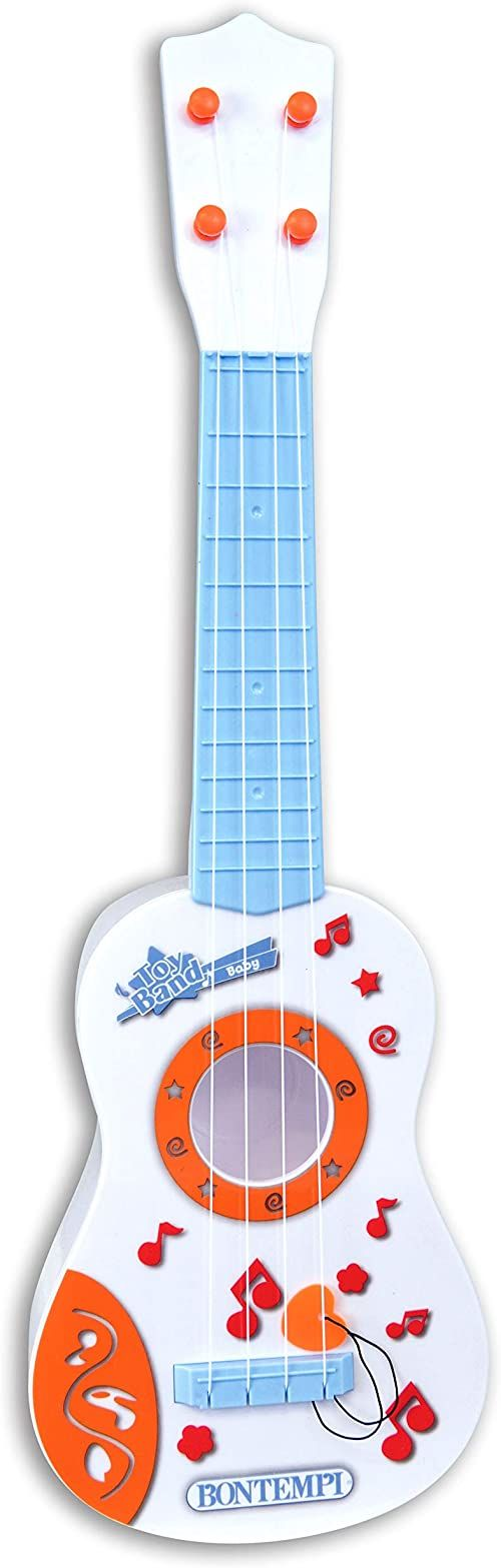 Bontempi 20 2225 Born gitara dziecięca z 4 nylonowymi bokami