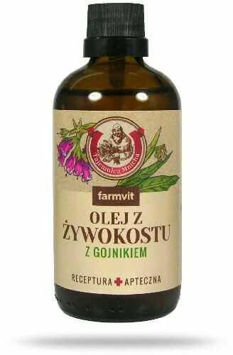 Farmvit olej z żywokostu z gojnikiem 100 ml
