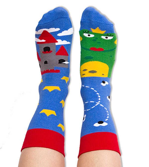 Skarpety kolorowe dla dzieci żabka - Princess Frog