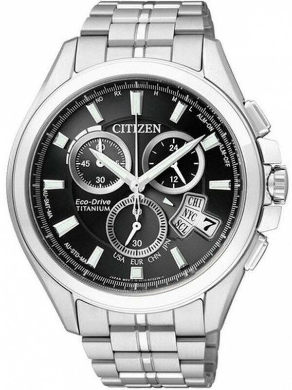 Zegarek CITIZEN ECO-DRIVE TITANIUM BY0051-55E