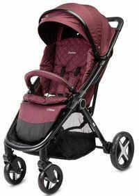 Caretero wózek spacerowy colosus burgundy