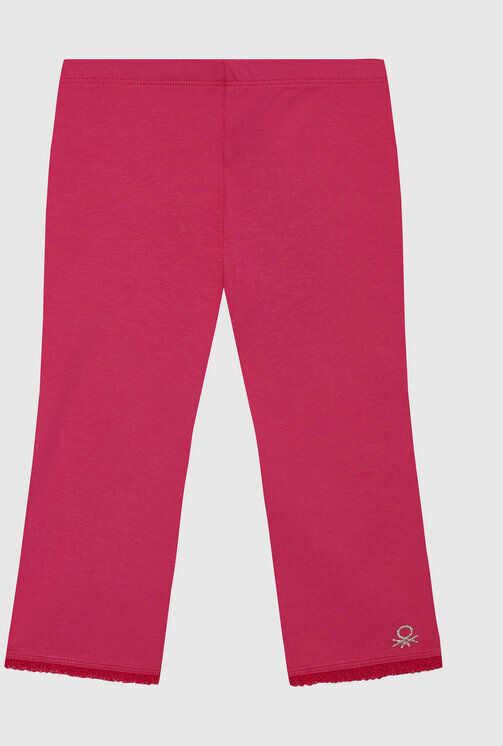 Legginsy 3MT1I0820 D Różowy Slim Fit