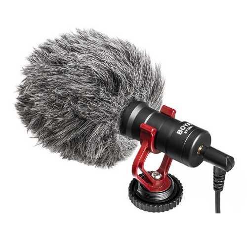 Boya BY-MM1 - mikrofon pojemnościowy do kamer, lustrzanek Boya BY-MM1