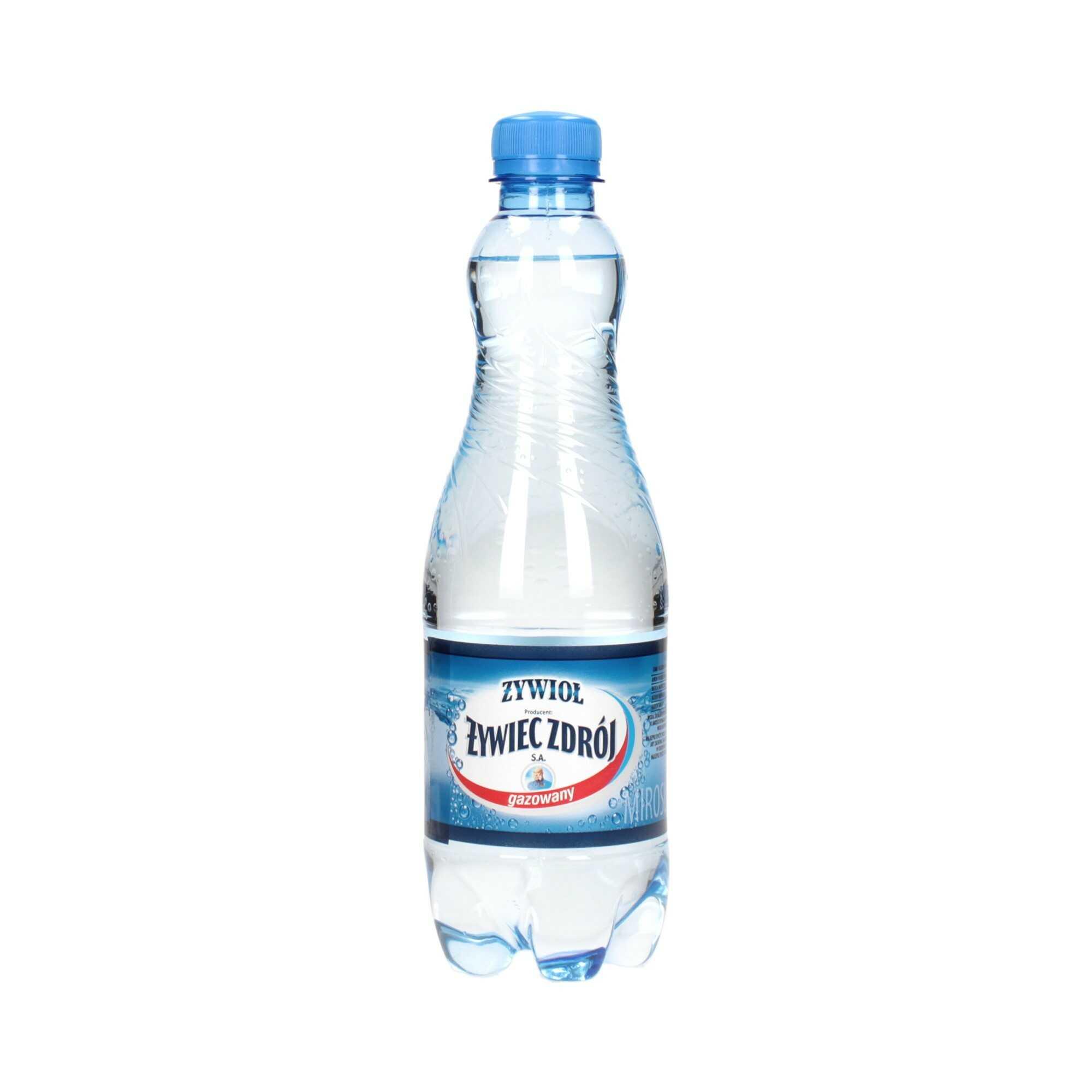 Woda źródlana 0.5l gazowana Żywiec