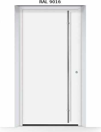 ThermoSafe aluminiowe drzwi zewnętrzne, przeciwwłamaniowe RC 3 - 860, kolory do wyboru