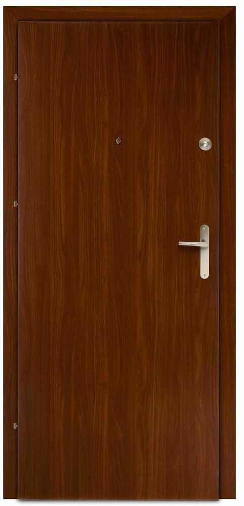 Drzwi wejściowe PRESTON Orzech 90 Lewe DOMIDOR