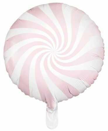 Balon foliowy Cukierek 45cm jasny różowy FB20P-081J