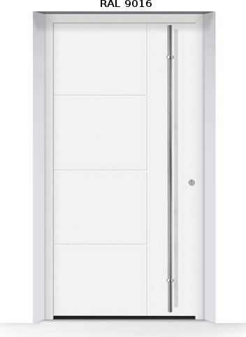 ThermoSafe aluminiowe drzwi zewnętrzne, przeciwwłamaniowe RC 3 - 871, kolory do wyboru