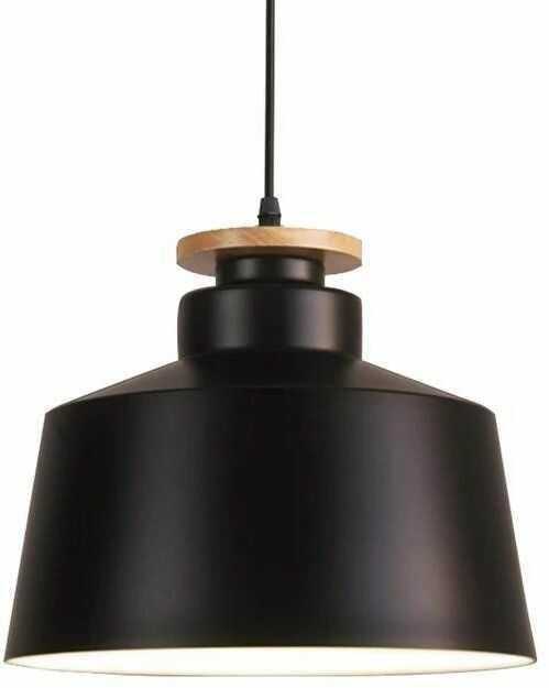Lumina Deco Levanti D30 nowoczesna czarna lampa wisząca