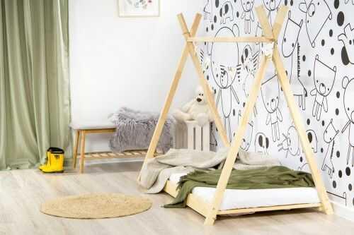 Łóżko 180x80cm Cheeky Monkey Tipi kolor sosna